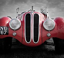 Frazer Nash, BMW roadster, Goodwood Revival, 2011 by herbpayne