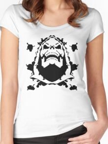 Ink Blot of Evil! Women's Fitted Scoop T-Shirt