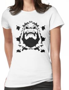 Ink Blot of Evil! Womens Fitted T-Shirt