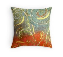 Flowing WILD and Free in Summer Sun Throw Pillow