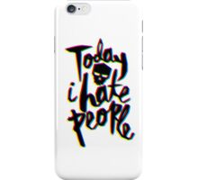 Hate Day iPhone Case/Skin