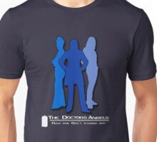 The Doctor's Angels (blue) Unisex T-Shirt