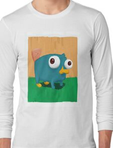 Baby Perry the Platypus Long Sleeve T-Shirt