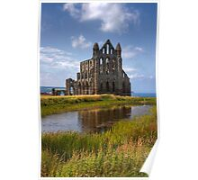 Whitby Abbey in the afternoon Poster