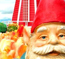 Windmill Gnome Sticker
