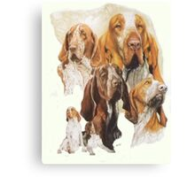 Bracco Italiano /Ghost Canvas Print