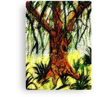 My Dream tree, watercolor Canvas Print