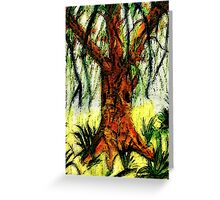 My Dream tree, watercolor Greeting Card
