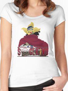 SogeKing Tshirt Women's Fitted Scoop T-Shirt