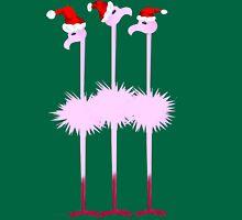 Three Christmas Flamingos  T-Shirt