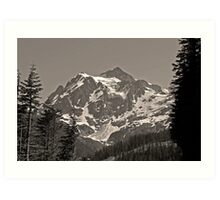 mt shuksan, washington, usa august 2011 Art Print