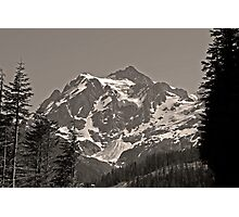 mt shuksan, washington, usa august 2011 Photographic Print