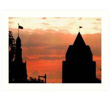 Milwaukee Sunset © Art Print