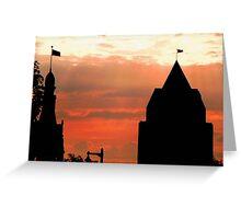 Milwaukee Sunset © Greeting Card