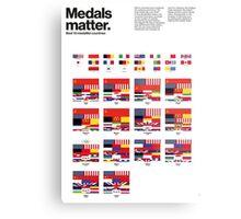 Medal matters (I) Metal Print