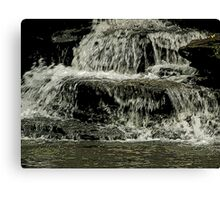 Flowing over Canvas Print