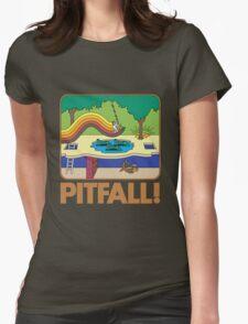 Pitfall! 2600 Box Womens Fitted T-Shirt