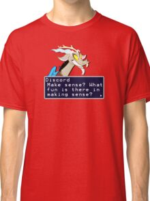 My Little Pony Discord Quote Shirt 2 Classic T-Shirt