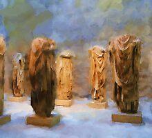 Headless Roman Statues by Michael Greenaway