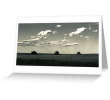 In the Shadows of the Clouds Greeting Card