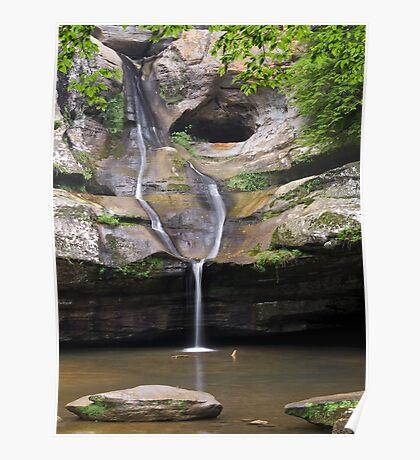 Cedar Falls in Ohio's Hocking Hills Poster