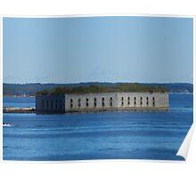 Fort Gorges - Portland Harbor, ME Poster