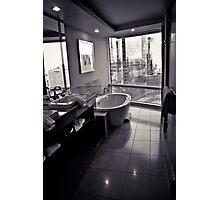 """""""Semi-private"""" bath Photographic Print"""