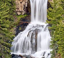 Undine Falls, Yellowstone National Park, Wyoming by Kenneth Keifer