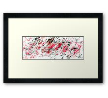 Broken Beat and Scarred - a.k.a. Anger Management in the 21st Century. Framed Print