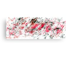 Broken Beat and Scarred - a.k.a. Anger Management in the 21st Century. Canvas Print