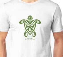 Green Tribal Turtle / Grand Cayman Unisex T-Shirt