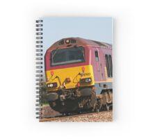 Class 67 vintage diesel loco 67022 Spiral Notebook