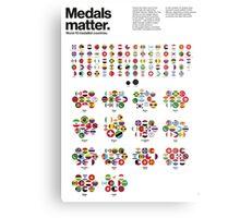 Medal matters (II) Metal Print