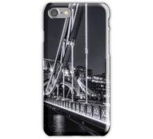 Tower Bridge, London at night. iPhone Case/Skin