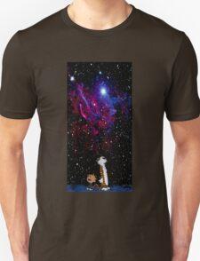 calvin and hobbes night sky T-Shirt