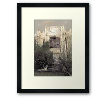 Old Columbia Jail Framed Print