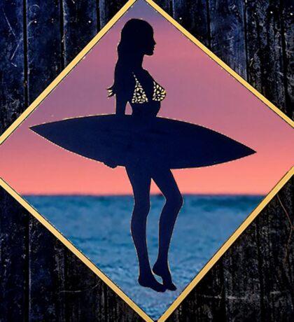 Surf life  Sticker