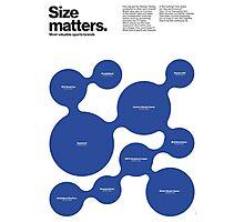 Size matters (I) Photographic Print