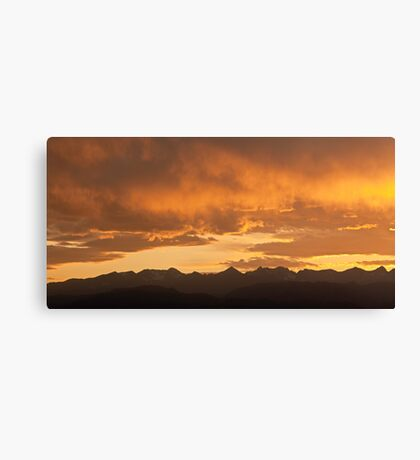 Colorado Crown Canvas Print