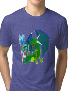 My Name is George - What's Your's, T-shirt, etc, design. Tri-blend T-Shirt