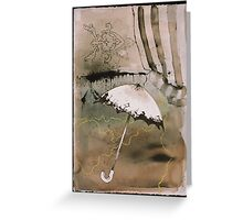 a delicate shelter Greeting Card