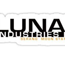 Lunar Industries Sticker