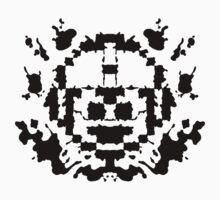 8 Bit Ink Blot - MegaMan Kids Clothes