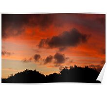 Warrnambool winter sunset Poster