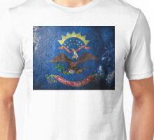 North Dakota Grunge Unisex T-Shirt