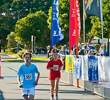 Kingscliff Triathlon 2011 Finish line B5954 by Gavin Lardner