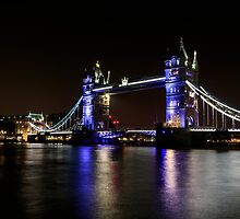 Tower Bridge, London night by chris2766