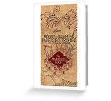 The Marauders Map 2 Greeting Card