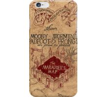 The Marauders Map 2 iPhone Case/Skin