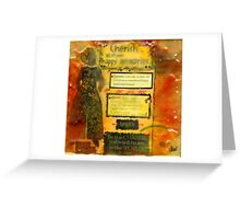 I Cherish ALL MEMORIES of YOU Greeting Card